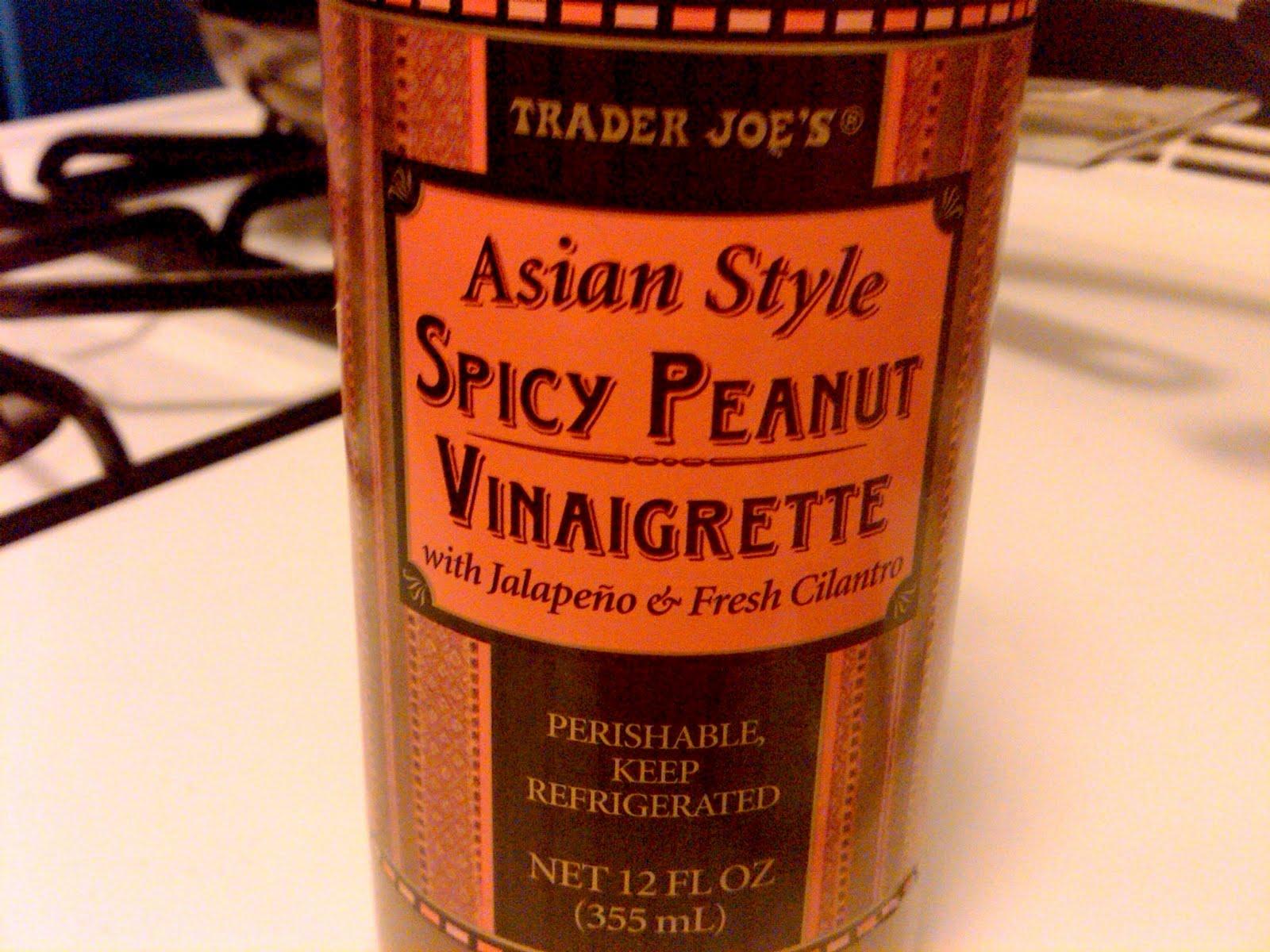 Love recipe asian style spicy peanut vinegarette doubt you're